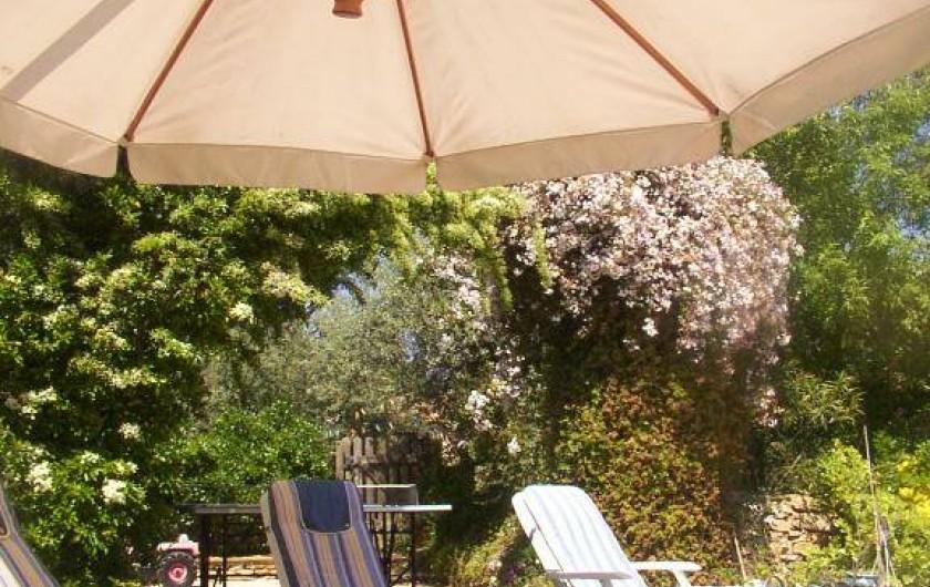 Location de vacances - Mas à La Ciotat - Près de la piscine