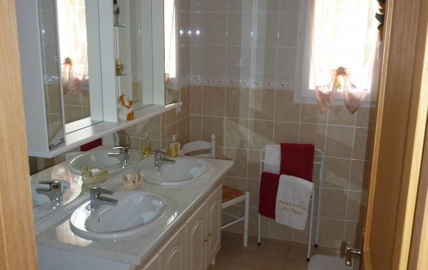 Location de vacances - Chambre d'hôtes à Le Bosc - LA SALLE DE BAIN