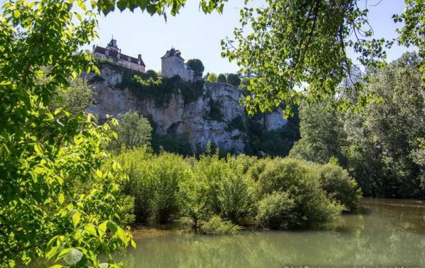 Location de vacances - Maison - Villa à Lacave - A 3km L'Ouysse sous le château de Belcastel   © Lot Tourisme C. Novello