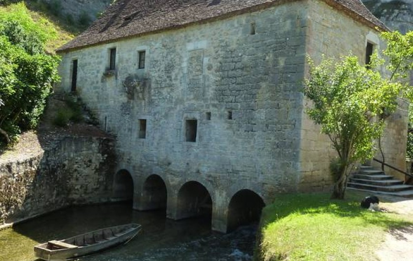 Location de vacances - Maison - Villa à Lacave - A 12Km Le Moulin de Cougnaguet sur l'Ouysse | © Lot Tourisme - E. Ruffat