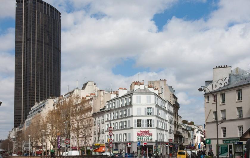 Location de vacances - Studio à 14e Arrondissement - Avec la tour Montparnasse en arrière-plan