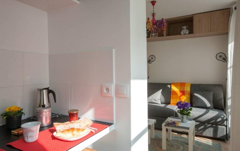 Location de vacances - Studio à 14e Arrondissement - La pièce principale vue de la cuisine