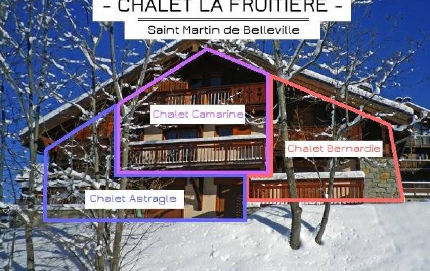 Location de vacances - Appartement à Saint-Martin-de-Belleville - Il y a deux autres appartements dans le chalet.