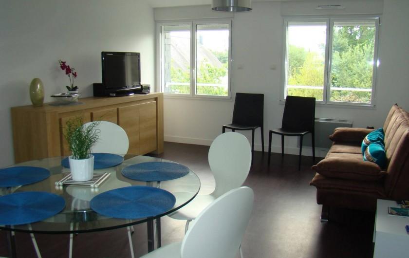 Location de vacances - Appartement à Vannes - Salon
