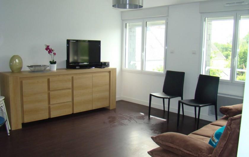 Location de vacances - Appartement à Vannes - Buffet du salon