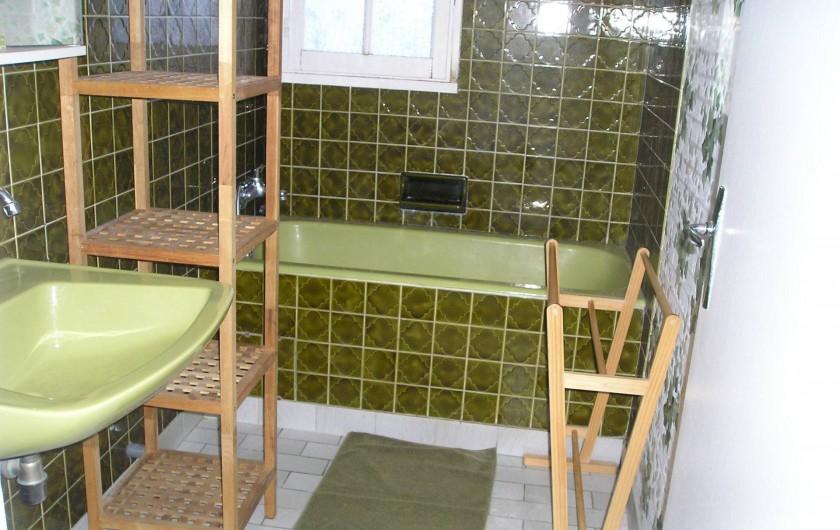 Location de vacances - Villa à Queyrac - Salle de bain