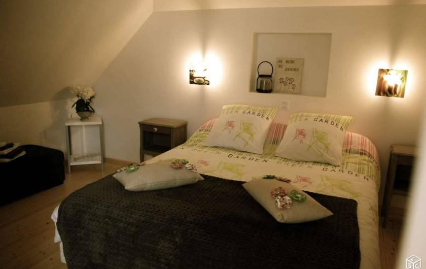 Location de vacances - Maison - Villa à Pordic - lits  faits à l'arrivée !
