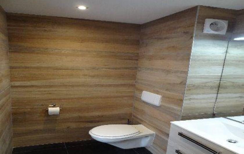 Location de vacances - Appartement à Annecy-le-Vieux - toilette suspendue