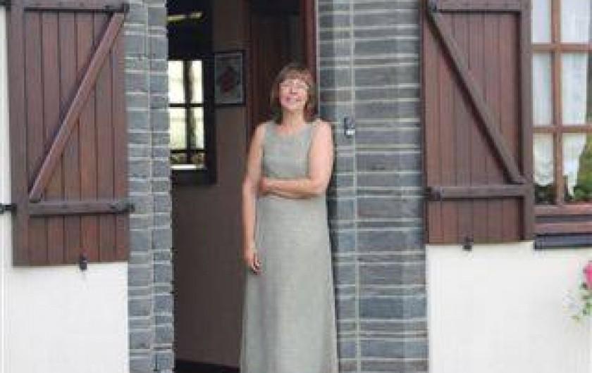 Location de vacances - Chambre d'hôtes à Fauvillers - Agnès, votre hôtesse