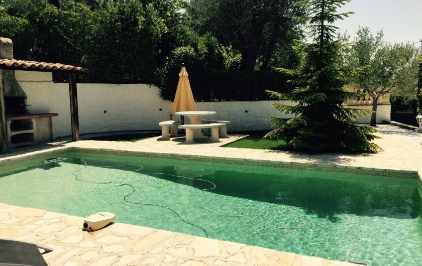 Location de vacances - Villa à Berre-les-Alpes