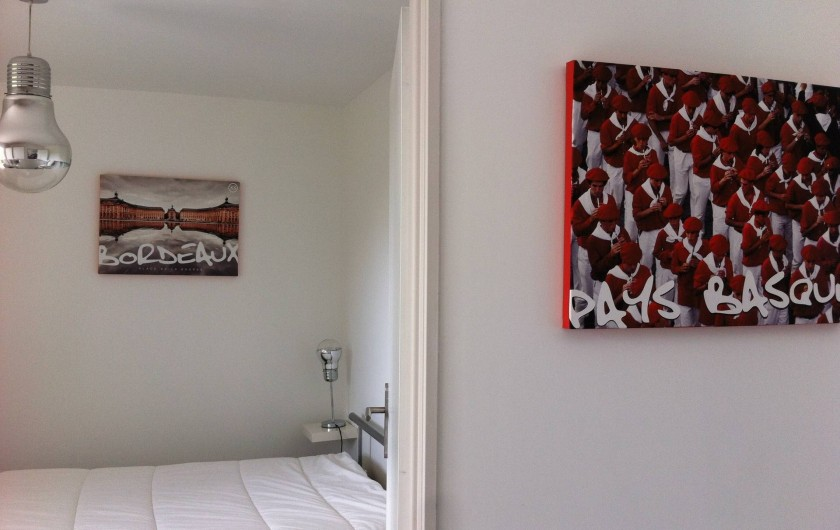 Location de vacances - Appartement à Saint-Julien-en-Born - décoration soignée