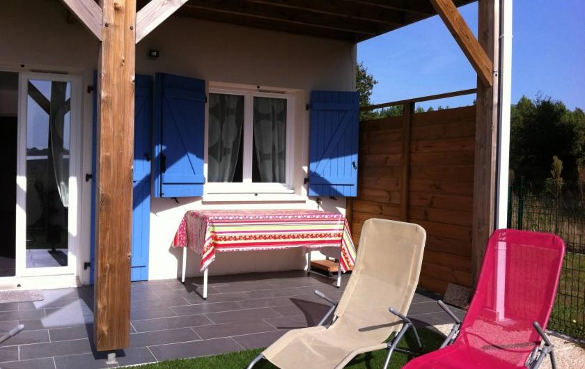 Location de vacances - Appartement à Saint-Julien-en-Born - bains de soleil