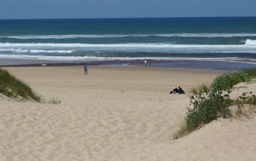 Location de vacances - Appartement à Saint-Julien-en-Born - plage de Contis (7km)