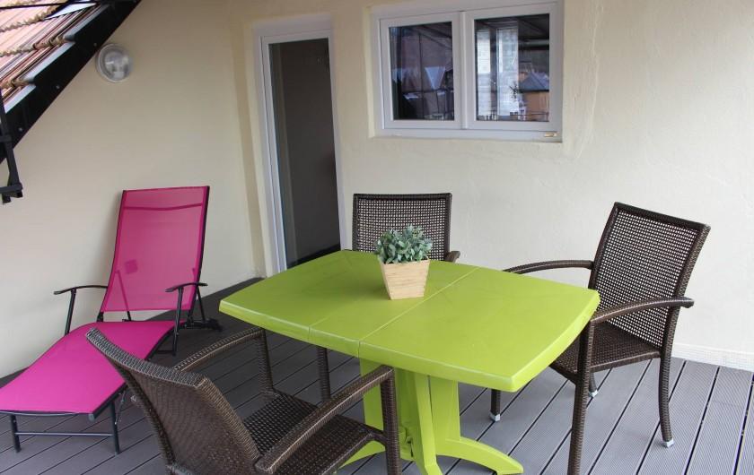 Location de vacances - Appartement à Niederbronn-les-Bains - La Terrasse