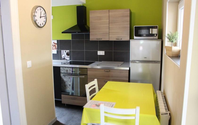 Location de vacances - Appartement à Niederbronn-les-Bains - Coin repas