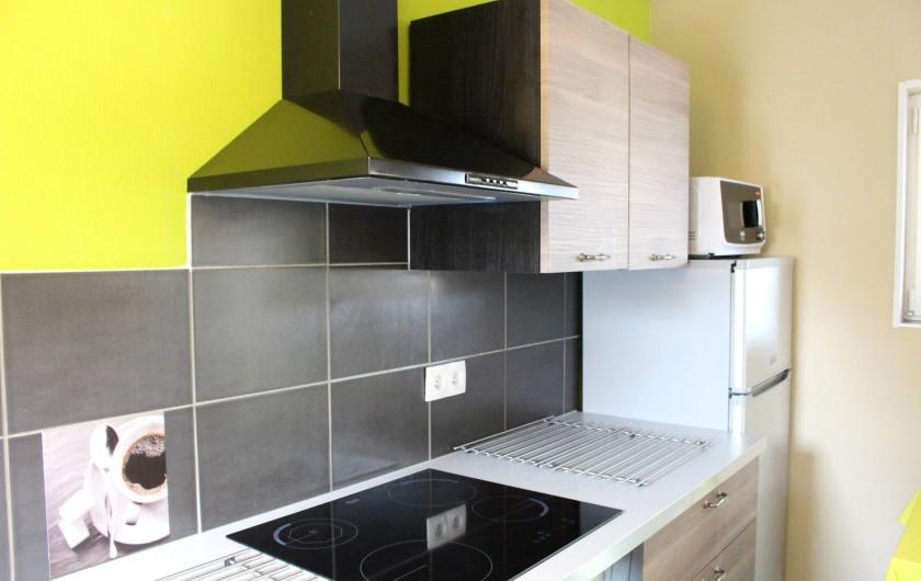 Location de vacances - Appartement à Niederbronn-les-Bains - Cuisine