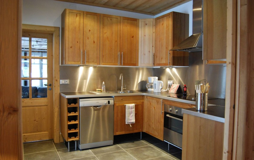 Location de vacances - Chalet à Morzine - Appartement 16 pers. Cuisine
