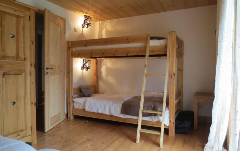 Location de vacances - Chalet à Morzine - Appartement 8 pers. Chambre N°2