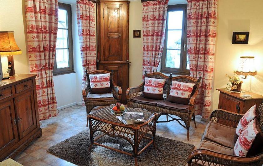 Location de vacances - Gîte à Dambach-la-ville - Salon