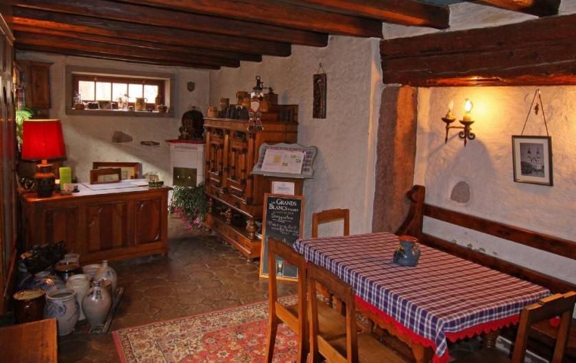 Location de vacances - Gîte à Dambach-la-ville - Caveau de dégustation