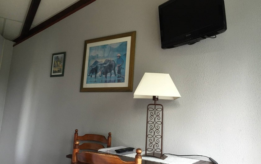 Location de vacances - Hôtel - Auberge à Escolives-Sainte-Camille - chambre