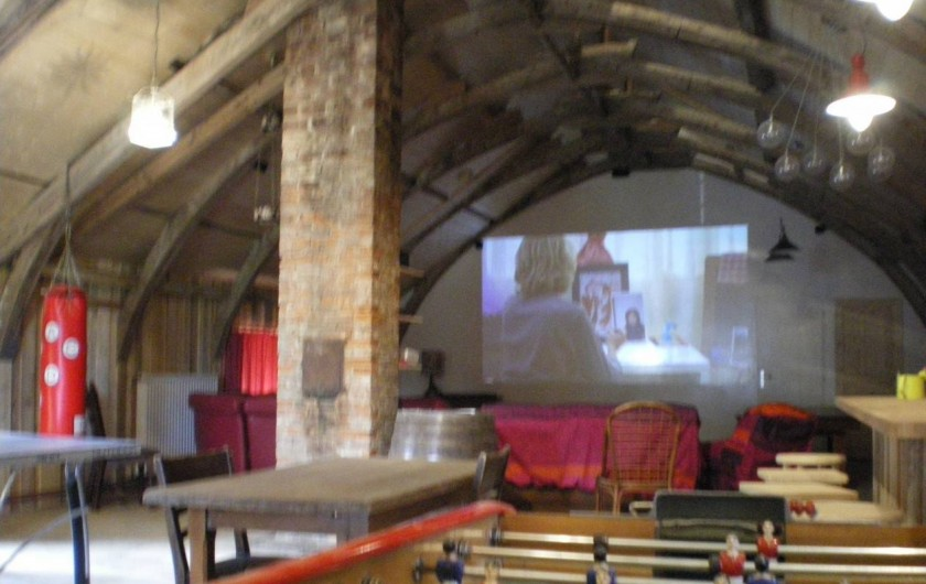 Location de vacances - Gîte à Sorans-lès-Breurey - Salle de jeux  + home-cinéma