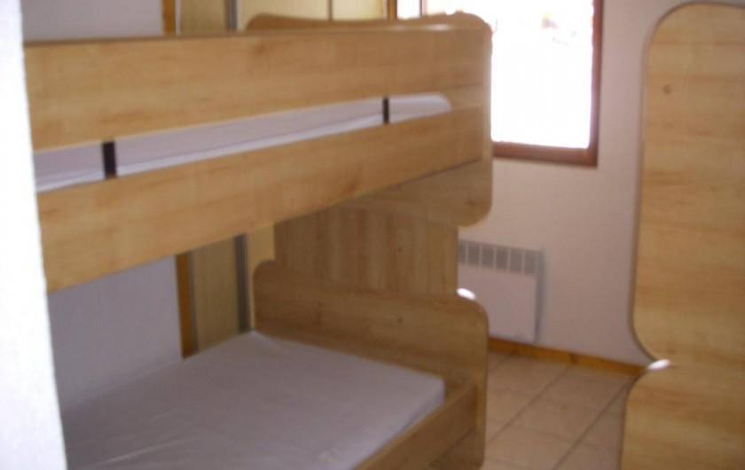 Location de vacances - Appartement à Chinaillon - Chambre 2
