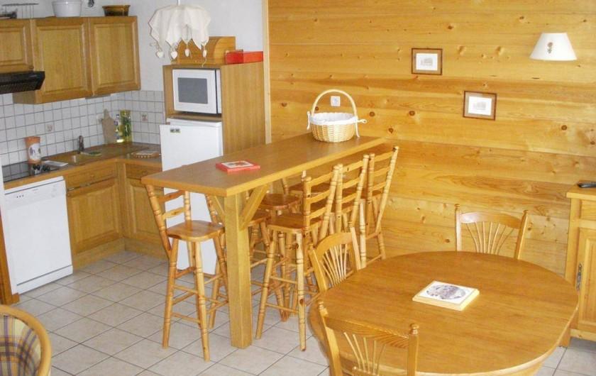 Location de vacances - Appartement à Chinaillon - Cuisine