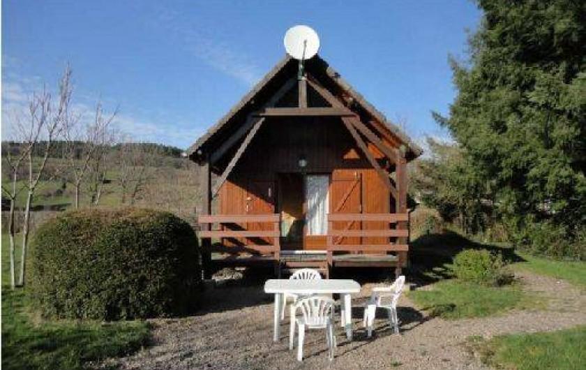 Location de vacances - Chalet à Chaumard