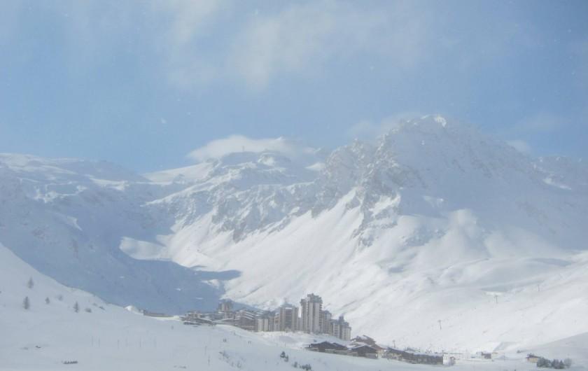 Location de vacances - Appartement à Tignes - Val Claret au pied de la Grande Motte