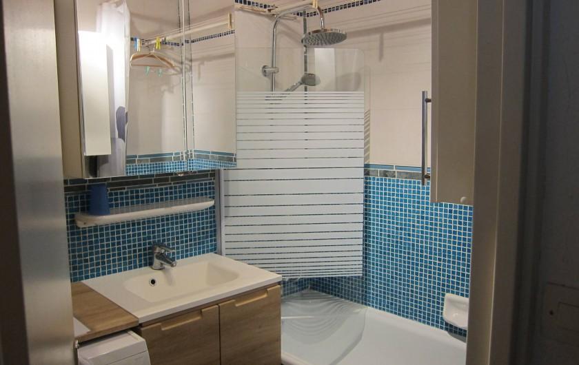 Location de vacances - Appartement à Tignes - Salle de bain