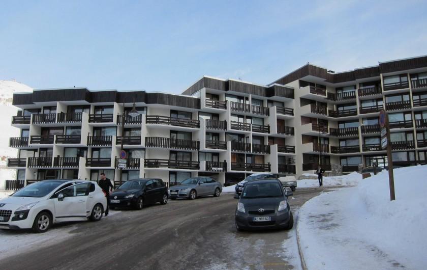 Location de vacances - Appartement à Tignes - L'immeuble les Glaciers