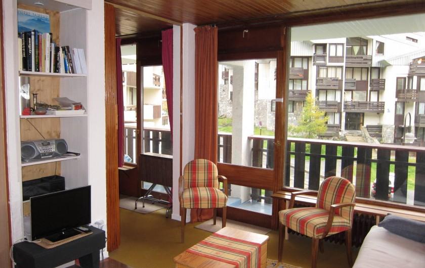 Location de vacances - Appartement à Tignes - Séjour