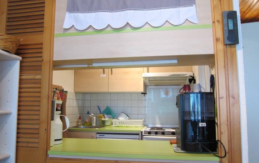 Location de vacances - Appartement à Tignes - Cuisine