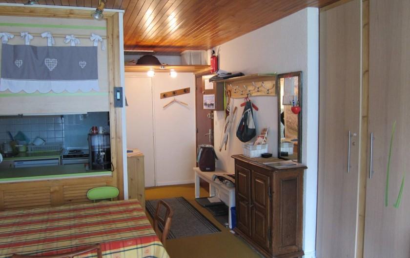 Location de vacances - Appartement à Tignes - Entrée