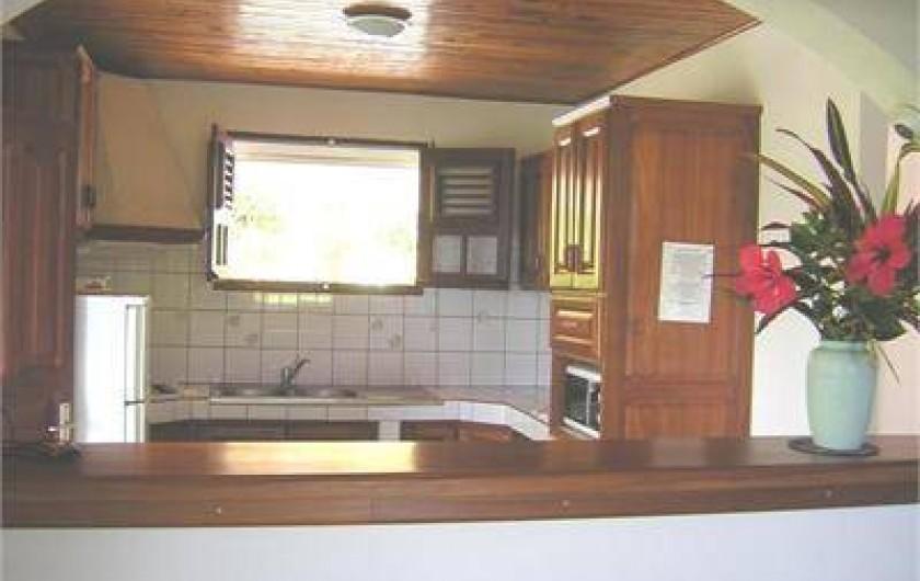 Location de vacances - Villa à Les Anses-d'Arlet - Cuisine Américaine