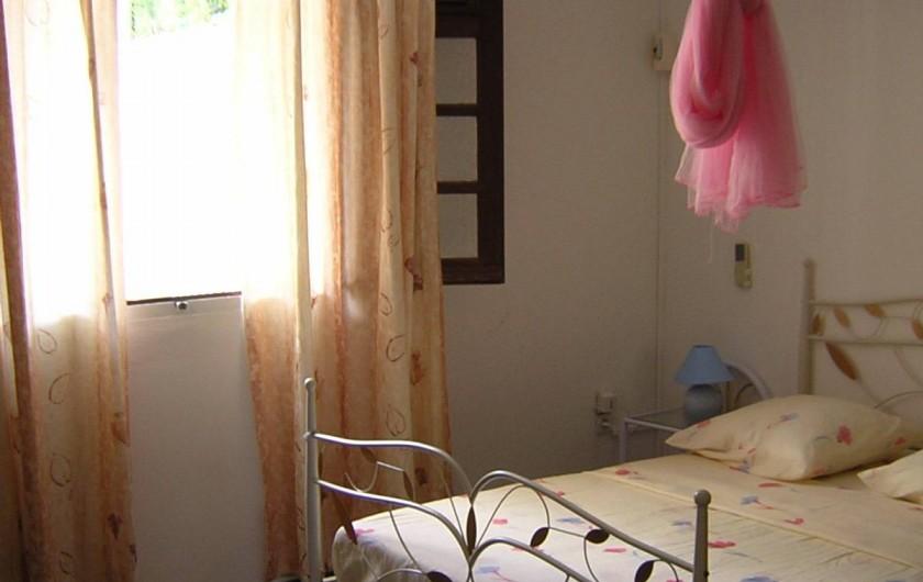 Location de vacances - Villa à Les Anses-d'Arlet - Chambre N°1