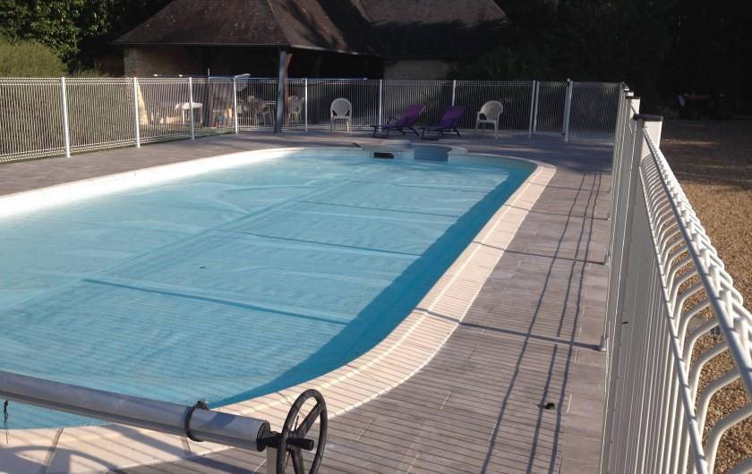 Location de vacances - Gîte à Les Rairies - piscine