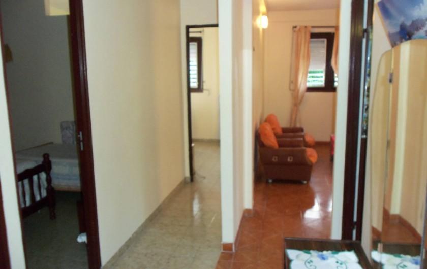 Location de vacances - Appartement à Les Anses-d'Arlet - Entrée et couloir