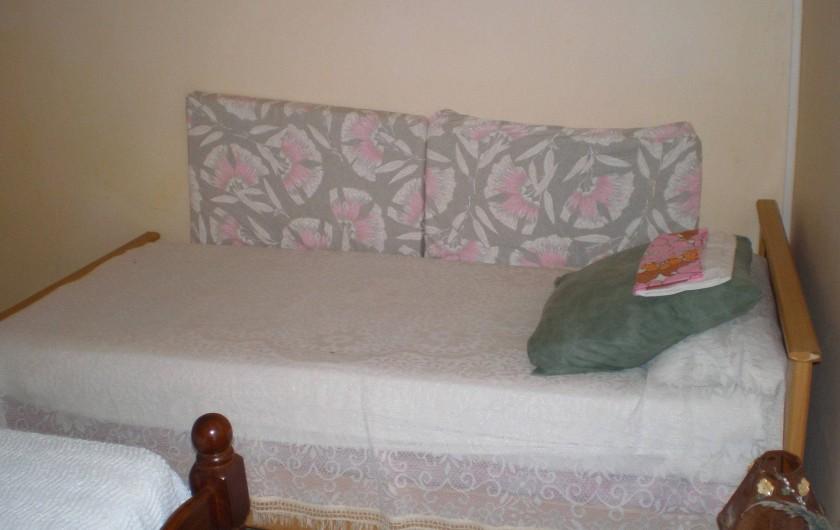 Location de vacances - Appartement à Les Anses-d'Arlet - Chambre climatisée n°1 Lit simple