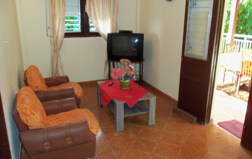 Location de vacances - Appartement à Les Anses-d'Arlet - Salon