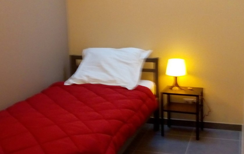 Location de vacances - Gîte à Stavelot - chambre à coucher