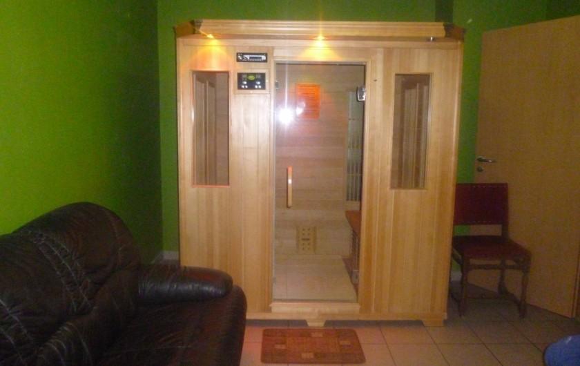 Location de vacances - Gîte à Stavelot - sauna infrarouge
