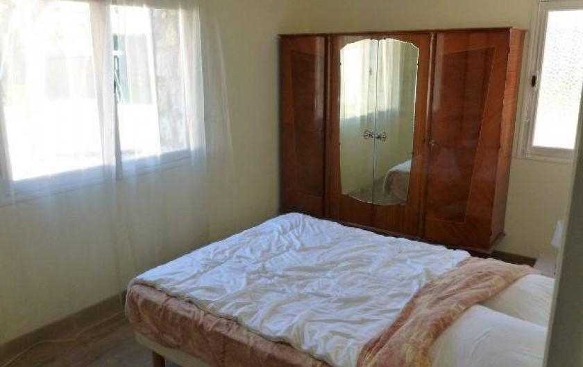 Location de vacances - Villa à Grasse - La chambre jaune - Rez-de-chaussée