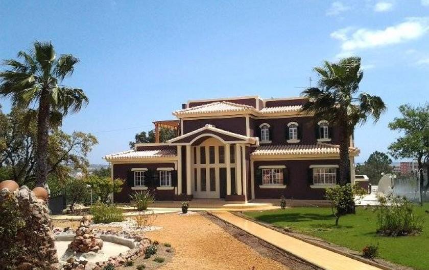 Location de vacances - Appartement à Armação de Pêra - Villa Solar Da Praia - Côté jardin