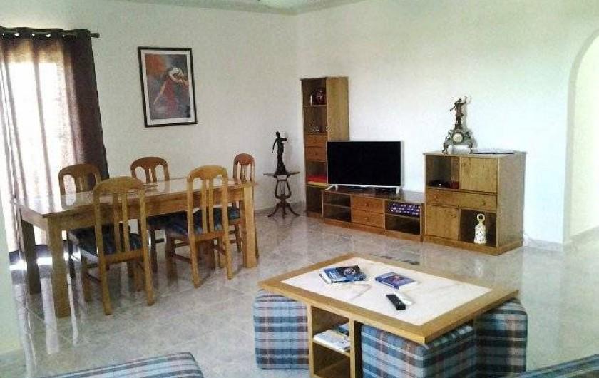 Location de vacances - Appartement à Armação de Pêra - Salle à manger