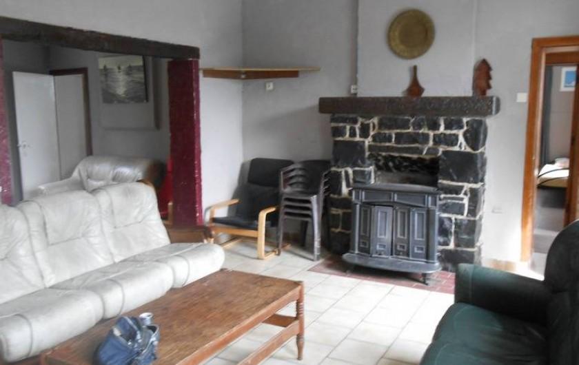 Location de vacances - Gîte à Dinant - L'autre partie du salon