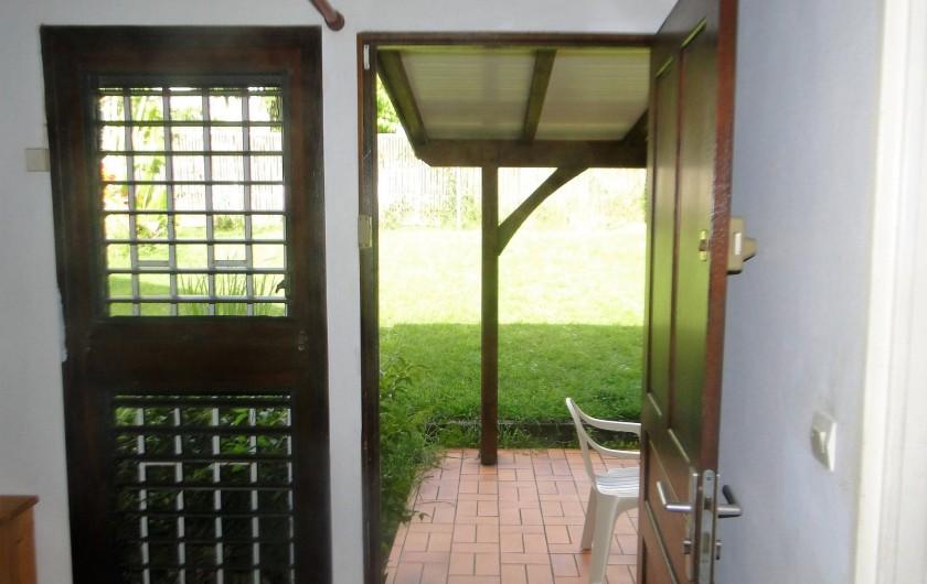 Location de vacances - Studio à Schoelcher