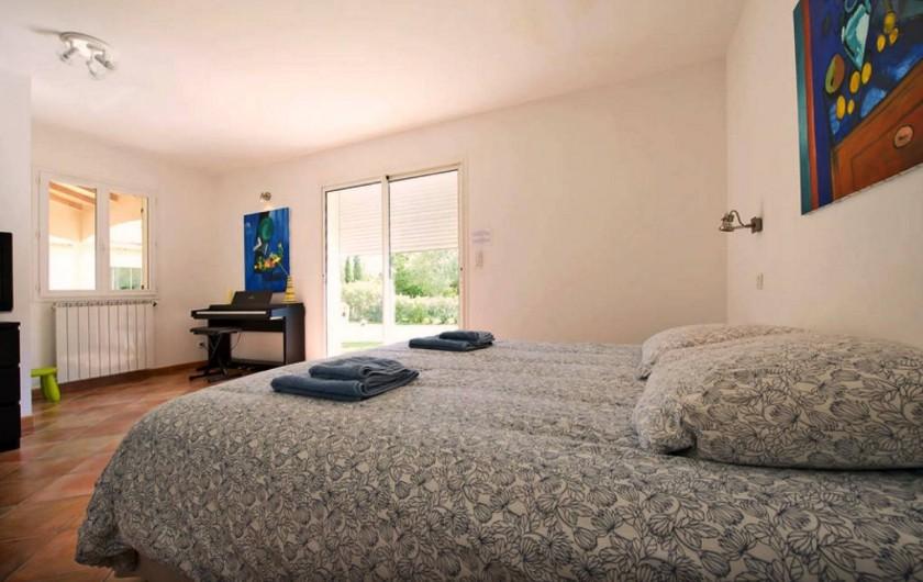 Location de vacances - Villa à Saint-Gély - 6 chambres