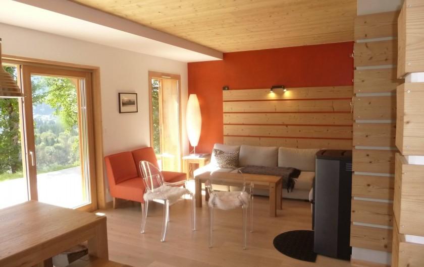 Location de vacances - Appartement à Samoëns - Un coin salon confortable
